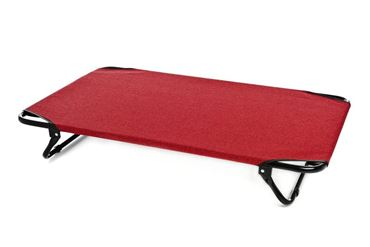 LIT DE CAMP SUPER CM.115X75 ROUGE