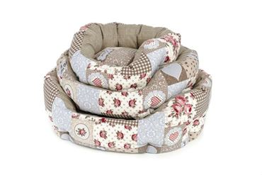 HEART OVAL DOGBEDS 3PZ. 40-50-60CM