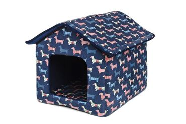 Изображение DOGBED HOUSE CANVAS 45X47X46CM DOGS
