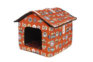 DOGBED HOUSE COTTON 45X47X46CM SHOP