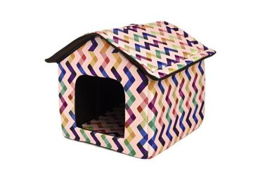 DOGBED HOUSE COTTON 45X47X46CM ZIGO