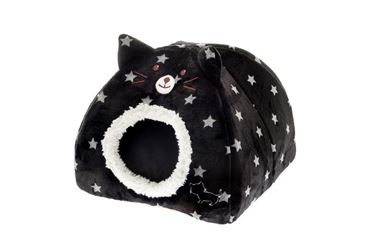Изображение IGLOO CAT 40X40X30CM STARS