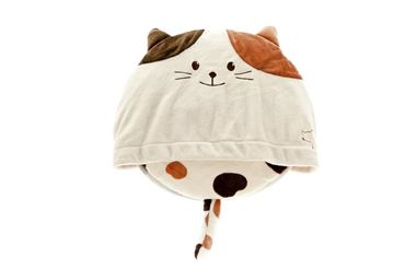 CAT PILLOW 52X42CM SPOTTED