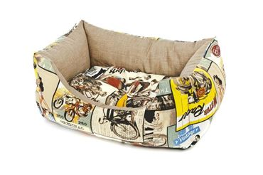 Изображение RECT.FIFTIES DOG BED 95XH.30CM