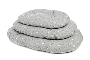 Bild von 3 MILLEBOLLE OVAL PILLOWS 38-49-57C GREY