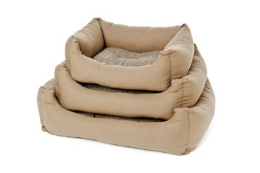 DOGBEDS TWEED CANVAS 55-65-77 CM BROWN