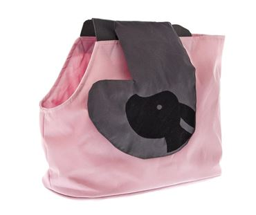 BURCINA SHOULDER BAG CM.33X25H PINK