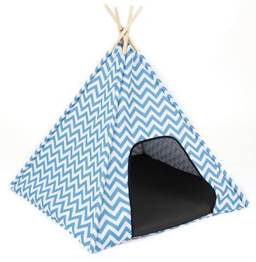 ZIGO-ZAGO TENT 74X74X71CM LIGHT BLUE