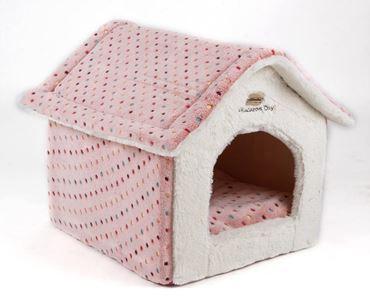 SOFT HOUSE 58X48X54CM PINK