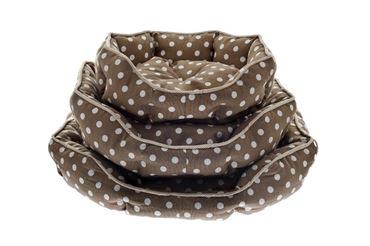 Изображение DOG BEDS CANVAS POIS 45-57-70 CM BEIGE
