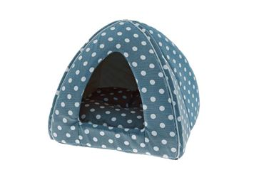 IGLOO CANVAS POIS 40X40X35 CM LIGHT BLUE