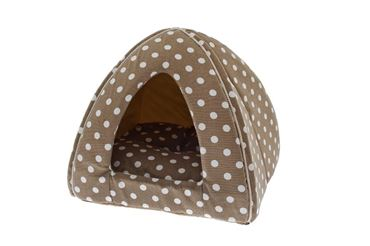 IGLOO CANVAS POIS 40X40X35 CM BEIGE