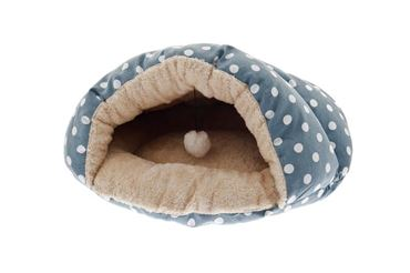Изображение CANVAS POIS NEST 49X40 CM LIGHT BLUE