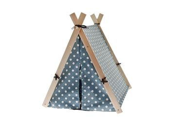 TEEPEE HAPPY 60X55X65 CM. LIGHT BLUE
