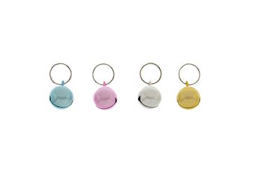 CARD 24PCS COLORED BELLS 1,2X1,2CM