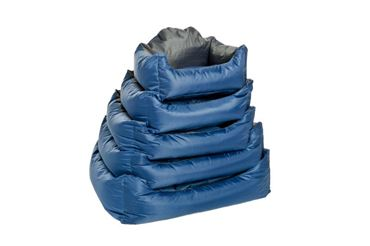 DOGBEDS WATERPROOF SOFT 53X42X25CM BLUE