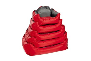 DOGBEDS WATERPROOF SOFT 53X42X25CM RED