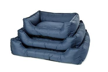 Изображение DOG BED OXFORD WATERPR. 61X48X18CM BLUE