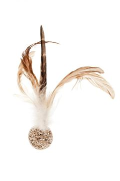 Εικόνα της PHEASANT FEATHERS BALL MATATABI 6PC