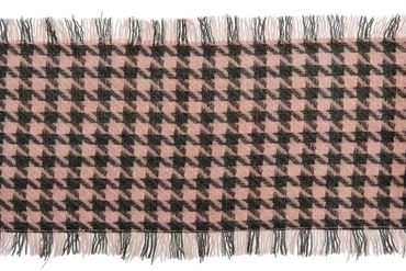 PASHMINA MEDIUM GIRL ROSA-GRIGIA