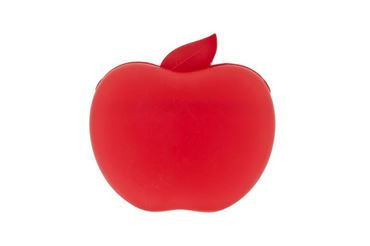 TREAT BAG APPLE 13X12X5CM SILICON