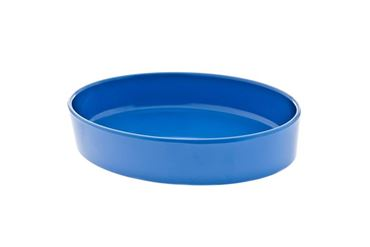 Изображение CAT BOWL MELAMINE 16X12X3CM BLUE