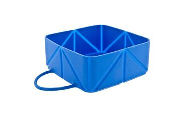 TRAVEL FOLDING BOWL 12X12X5CM BLUE