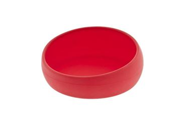 Изображение BULLDOG BOWL 14X6CM SILICON RED