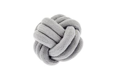 FX GRAY KNOT BALL D.12CM 1PCS