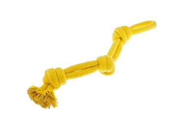 FX YELLOW 3 KNOTS ROPE 53CM 1PCS