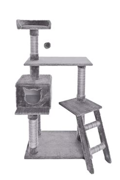 CAT TREE MUSTACHE 60X40X124CM