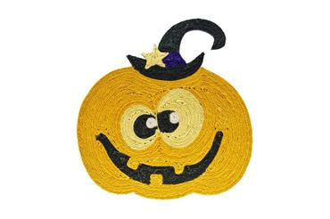 Изображение CARPET CAT SCRATCH PUMPKIN 44X40CM