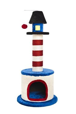 LIGHTHOUSE CAT TREE 44X44X98CM