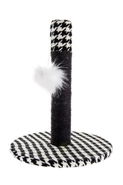CAT SCRATCH PIED DE POULE 34X34X42