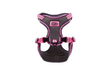 HARNESS ARIA L 76 TO 88CM X 2,5CM PINK