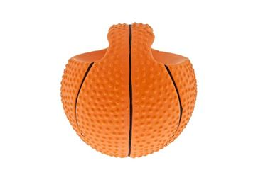 LATEX BASKET BALLS WITH HANDLE 6PC