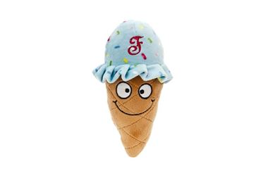 ICE CREAM FABRIC+RUBBER 16X7X5CM 3P