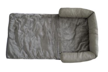CORBEILLE SOFA TWEED M 108X66CM