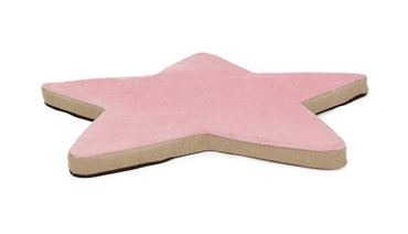 OFF BIG MAT STAR 100X95X5CMM PINK