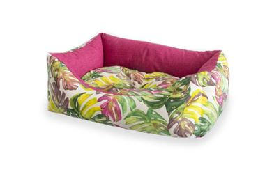 CORB.RECT.TROPICAL L 80X63CM 1PZ ROSE