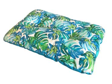 RECT.TROPICAL PILLOW M 80X57CM 1PCS LIGH