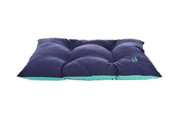 TWO-TONE PILLOW 75X50CM BLUE-GREEN