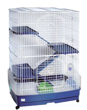 Εικόνα της RABBIT CAGE 3 FLOORS 68,5X45X91,5