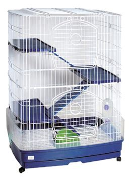 Εικόνα της RABBIT CAGE 3 FLOORS 82,5X56X108