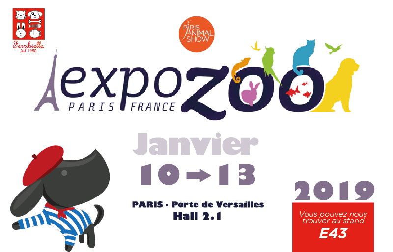FERRIBIELLA EXPOZOO PARIGI 2019!