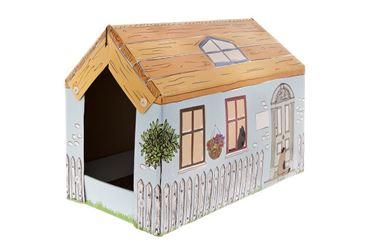 Bild von HOUSE CART.CATTREE COTTAGE 25X50X35