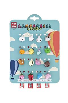 Изображение CARD 16PCS CRAZY BELLS MM15