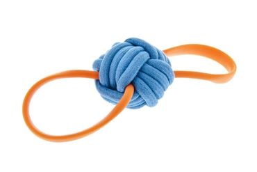 ROPE + TPR BOUNCE BALL 8,5X28CM