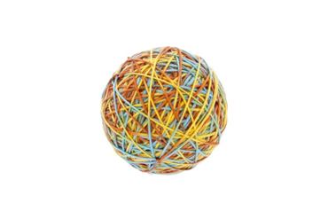 Изображение COLORED BALL FOR CAT 9CM