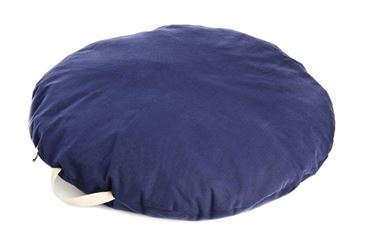 ROUND PILLOW BEANBAG 80CM BLUE